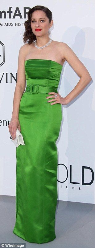Not so chic: Joan Smalls wore unflattering black while Marion Cotilard was uninspiring in ...