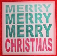17 best images about holiday signs made with scrappin for Merry christmas letter stencils