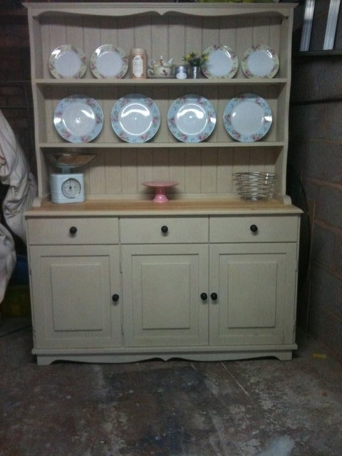 I require this!  Preloved   rustic farmhouse kitchen welsh dresser for sale in Leicester, Leicestershire