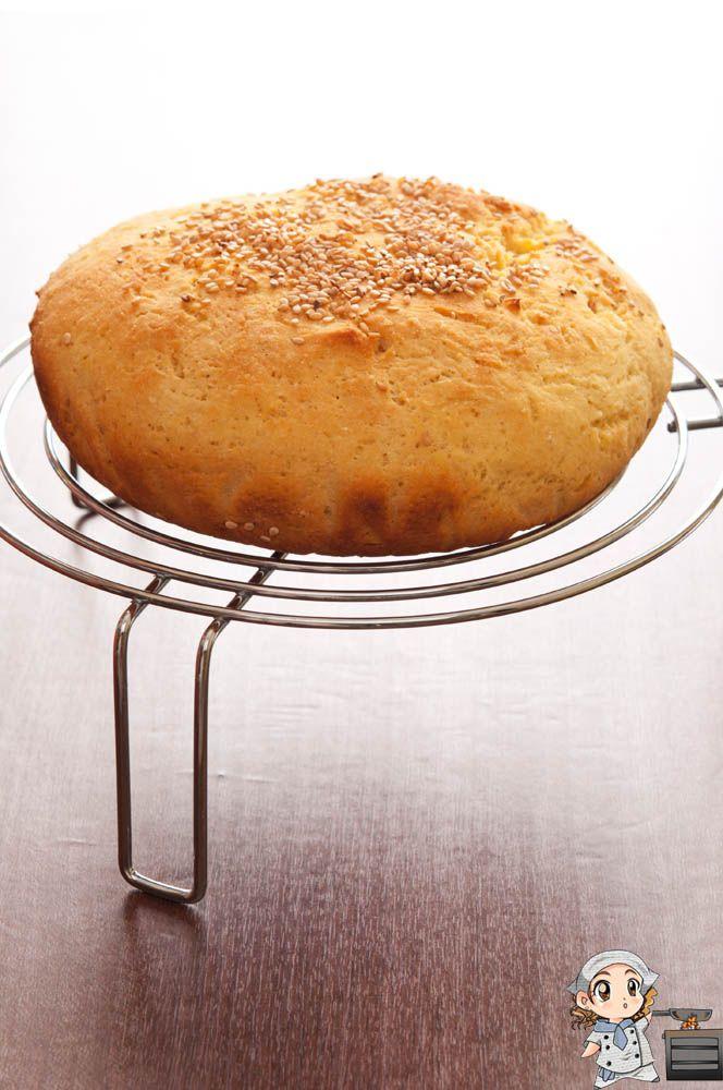 """Decididamente el pan que me gusta más es el que hago con mi ollita :) Os recuerdo que en el apartado """"pan sin gluten"""" podéis encontrar otros panes. PAN DE HARINA DE MAÍZ SIN GLUTEN Ingredientes: 20..."""