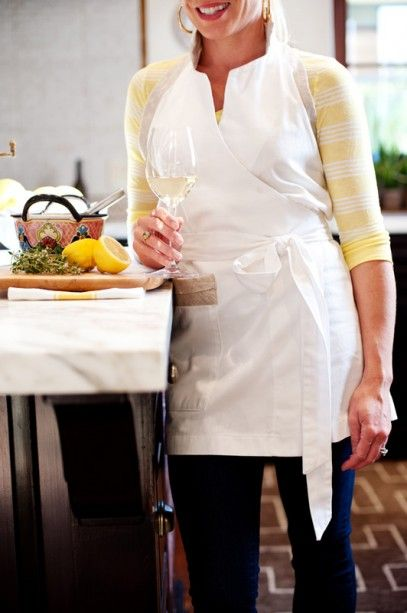The Cook Apron - finally, a flattering apron!
