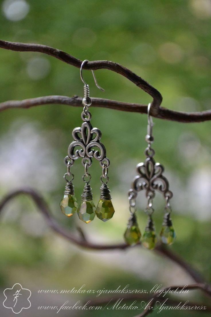 Earrings for fairies of wood  :-)