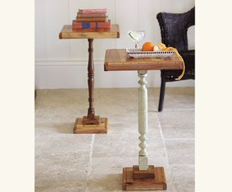 Does your Goodwill have a ton of cutting boards, they could make a great side table.
