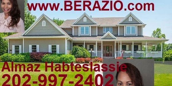 Almaz Habteslassie Award Winner Habesha Realtor In Dc Md Va 202 997 2402 Real Estate Agent Real Estate Estates