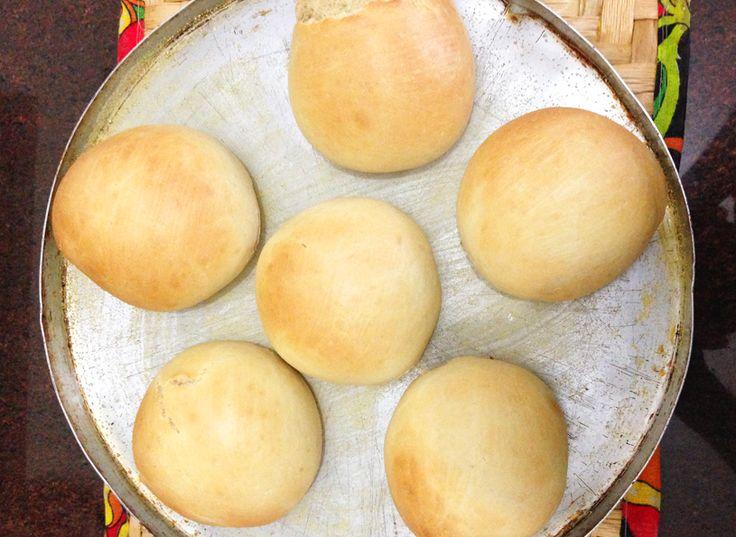 Pão pronto! Foto enviada pelo nosso leitor, Gian