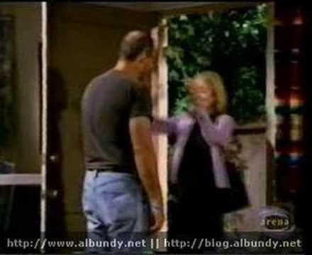 "Al bundy (Ed O'neal) Visits Chrstina on the set of ""Jesse"""