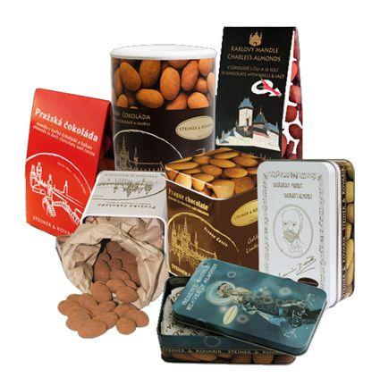 Prague - Almonds in chocolate #lovelockstore #prague #lovelockstory #chocolate #chocolateprague