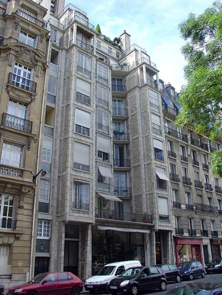Auguste Perret 25 bis Rue Franklin Paris 1902-3