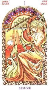 Resultado de imagem para art nouveau tarot
