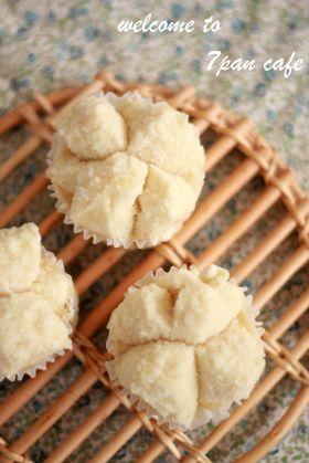 「ぱっくり割れる!ふわもち蒸しパン」nana | お菓子・パンのレシピや作り方【corecle*コレクル】