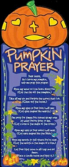 Dashing image regarding pumpkin prayer printable