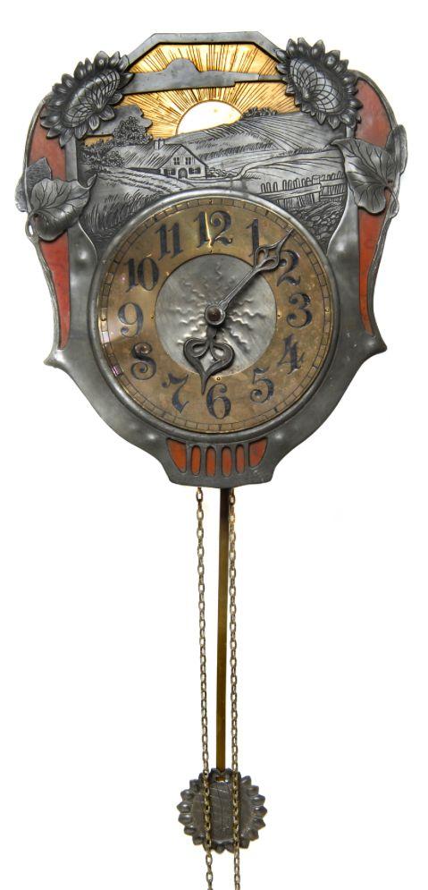 Wall Clock Art Nouveau : Ideas to try about art nouveau secessionist clocks