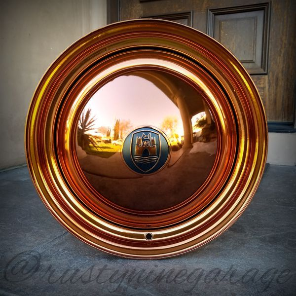 "15"" Copper Wolfsburg Edition Smoothie Wheels for Volkswagen Bug Smoothies Rims VW Parts"