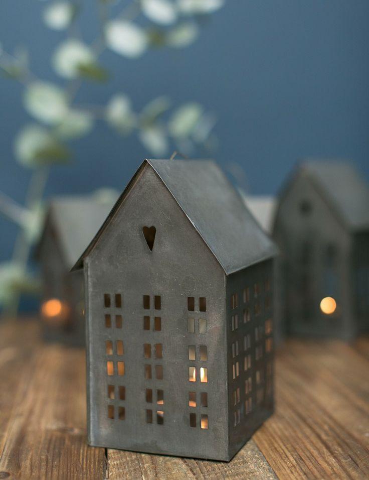 Zinc House Tealight Lantern