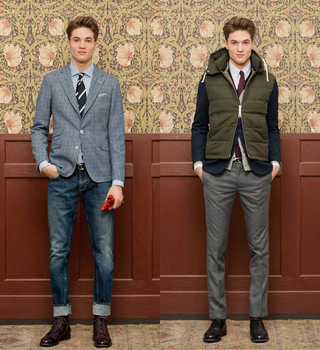Gant Rugger 2012 2013 Winter Holiday Mens Lookbook