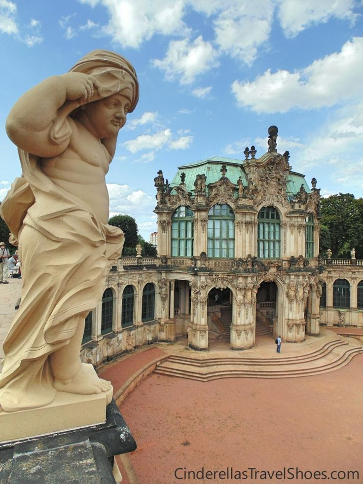Amazing architecture of Zwinger