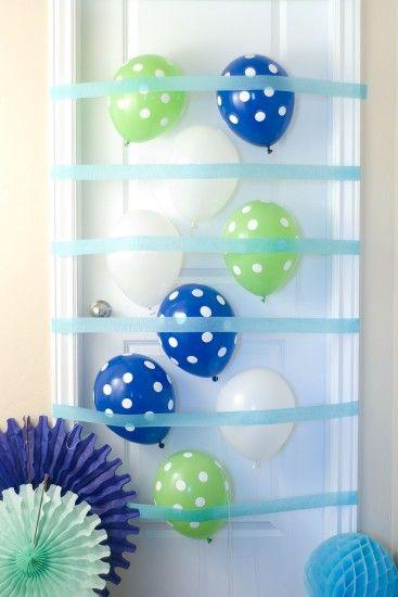 Birthday Door Balloon Surprise