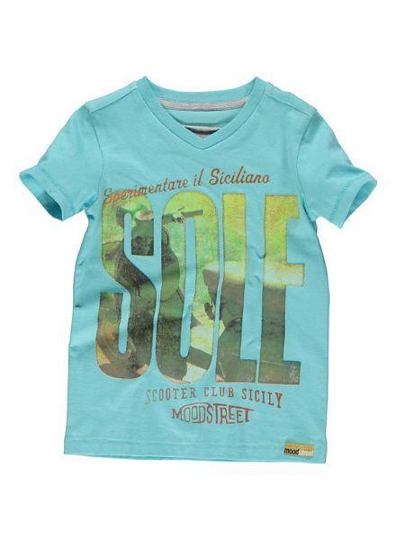 Moodstreet Moodstreet shirt Sky blauw Sole
