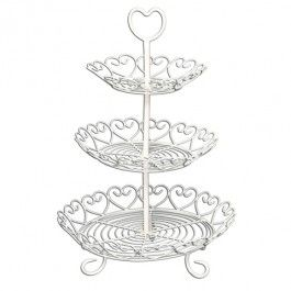 Wire Love Heart Cake Stand £26
