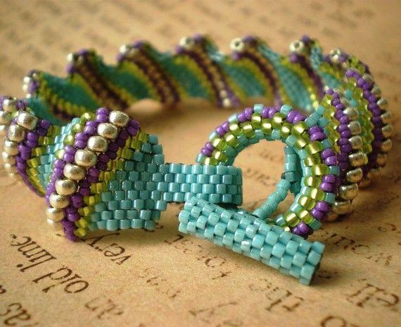 Bright Flat Cellini Spiral Bracelet by dawnchastain on ...