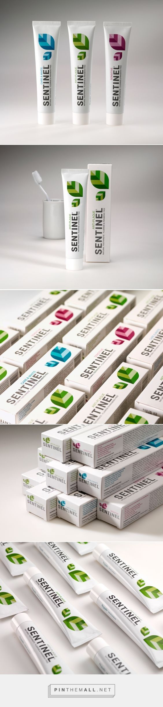 Sentinel Natural Toothpaste on   Packaging of the World - Creative Package Design Gallery  - http://www.packagingoftheworld.com/2015/07/sentinel-natural-toothpaste.html: