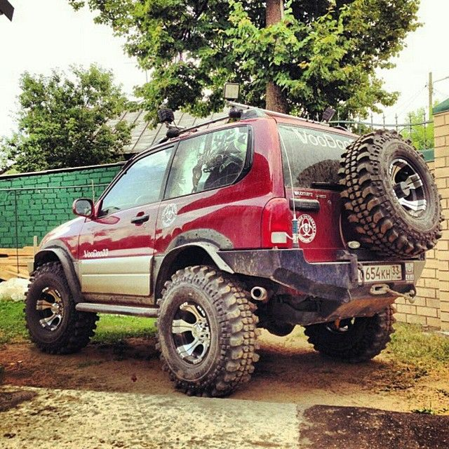 35 inch tires Grand Vitara 1.6cc #suzuki_offroad_club #vitara #suzuki #grand #grandvitara #sidekick #suzukivitara #suzukigrandvitara #escudo #offroad #4x4 #suzukioffroad #lift #lifting #high #mud #turkey #istanbul #offroad #modify #extreme #suzuki4x4 #vitara4x4 #truck #4xfourart #istanbuloffroad #vitaraoffroad #fun