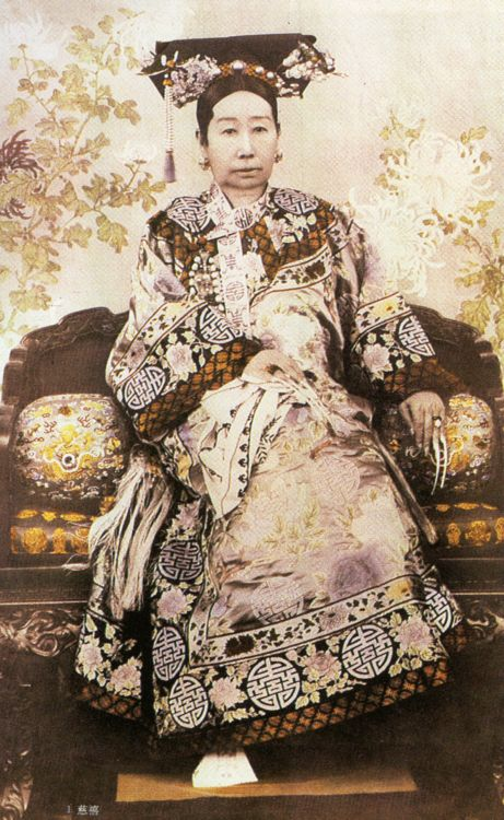 Empress Dowager Cixi - One of the most powerful people in China ruled China during several Emperors reigns, after her death the Empire fell apart