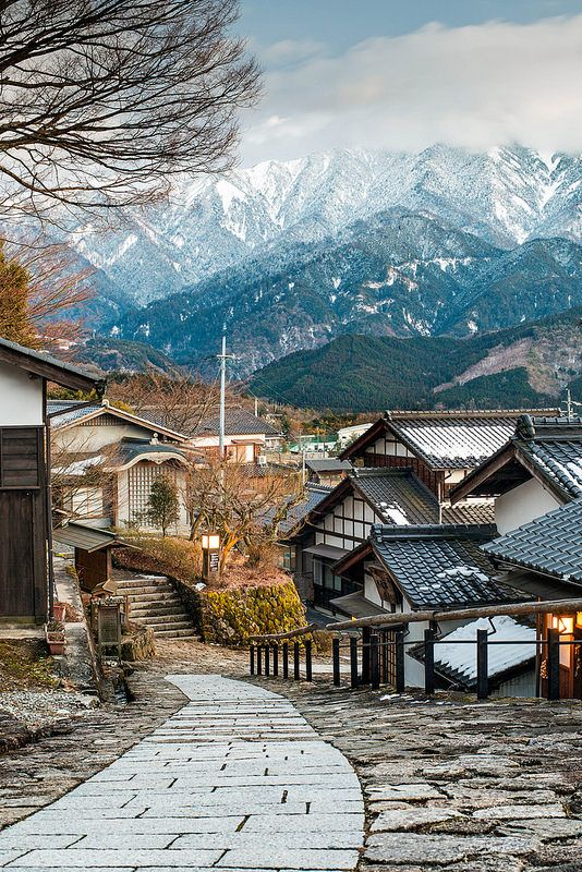 magome, kiso valley, japan   villages and towns in east asia + travel destinations #wanderlust