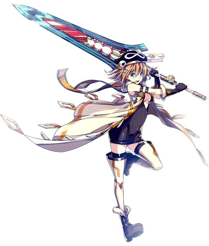 Anime Girl With Big Sword