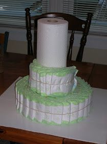Looking for the perfect centerpiece or memorable gift for the next baby shower you throw or attend? Try making a diaper cake so delectable...