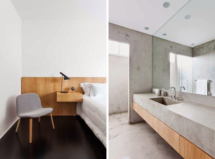 El interiorista Felipe Hess ha llevado a cabo esta reforma en un antiguo edificio de los años 60, que originariamente tenía una distribución compleja con pequeñas habitaciones, el paso más obvio era crear un espacio abierto y multidisciplinar que conectara los espacios sociales.