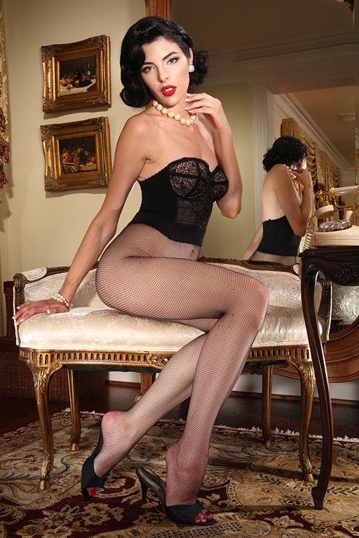 Nylons rht stockings high heels lg - 2 10