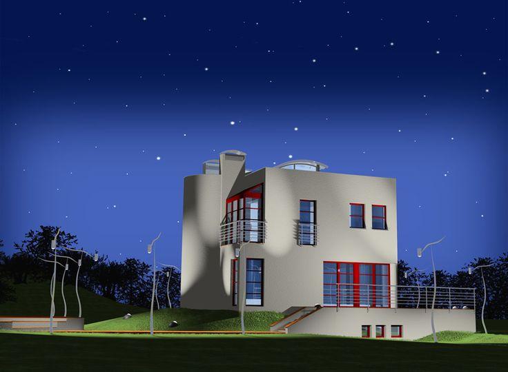 DOM.PL™ - Projekt domu KBP Działoszyn 3 CE - DOM BT1-48 - gotowy projekt domu