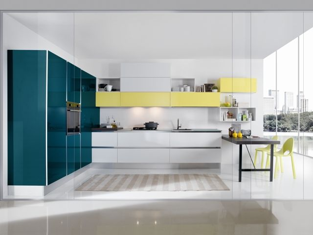 38 best images about il colore in cucina on pinterest ... - Domus Cucine