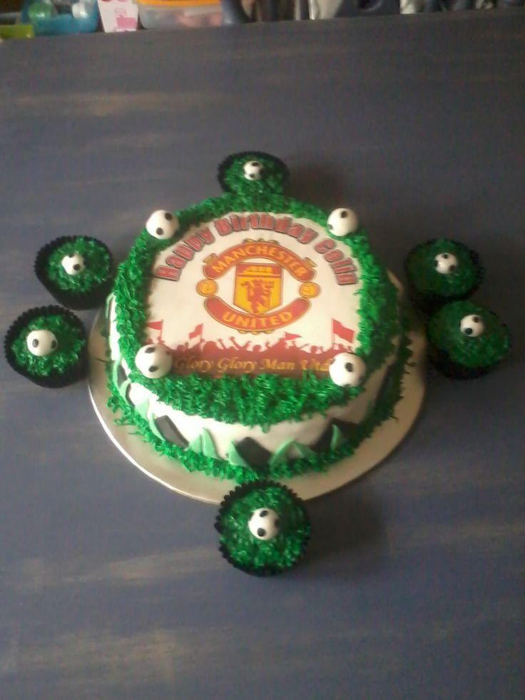 Man United Cake