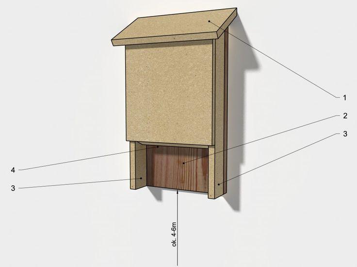 Designerer - Dla... nietoperzy,  #nietoperze/ shelter for bats, DIY, MFP, #bats