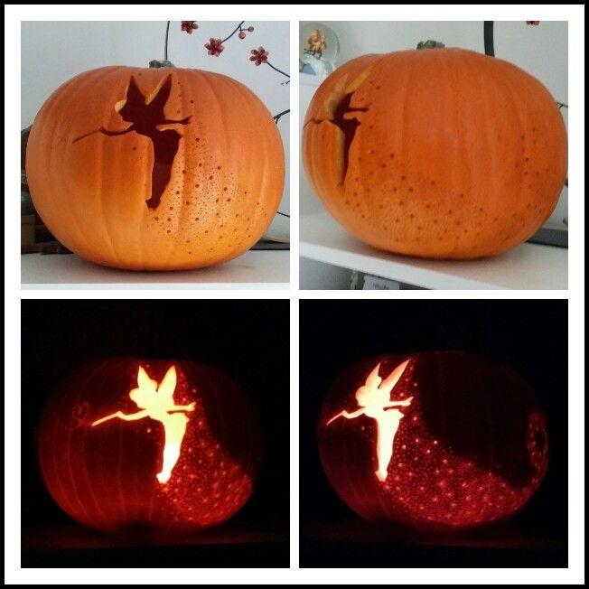 Tinkerbell Pumpkin (citrouille Fée Clochette)