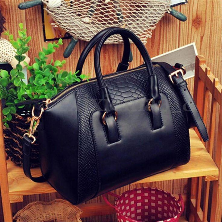 US Women Leather Handbag Shoulder Purse Messenger Crossbody Tote Bag Satchel New #Unbranded #ShoulderBag