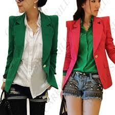 Resultado de imagem para blazer feminino acinturado