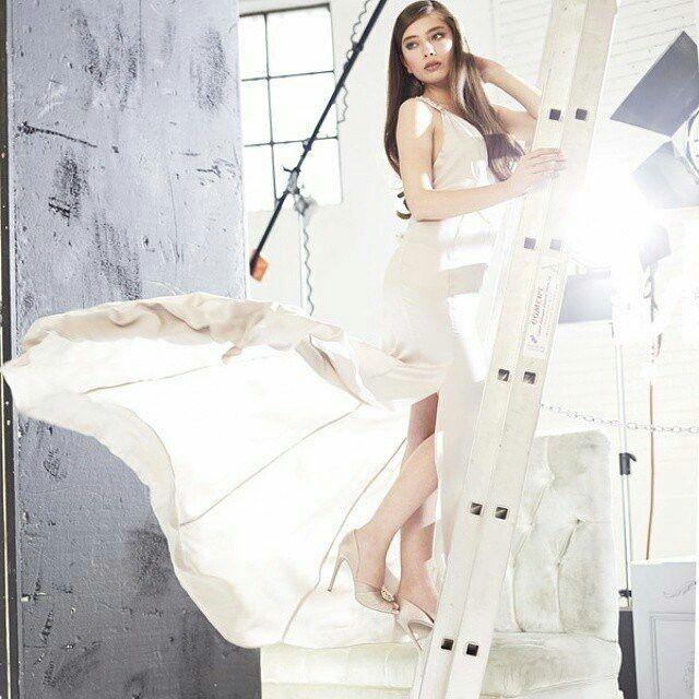 Neslihan Atagul Style Fashion Slip Dress