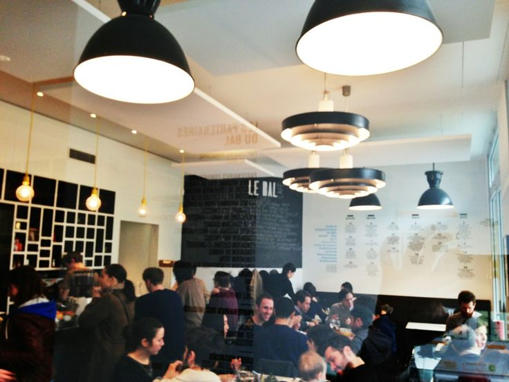 Coffee and art mix at this neighborhood café and exhibition space near Place de Clichy. Run by the former French-British chefs of Rose Bakery, Le Bal serves strong English-style breakfasts alongside its coffee. It's also open on Sundays.