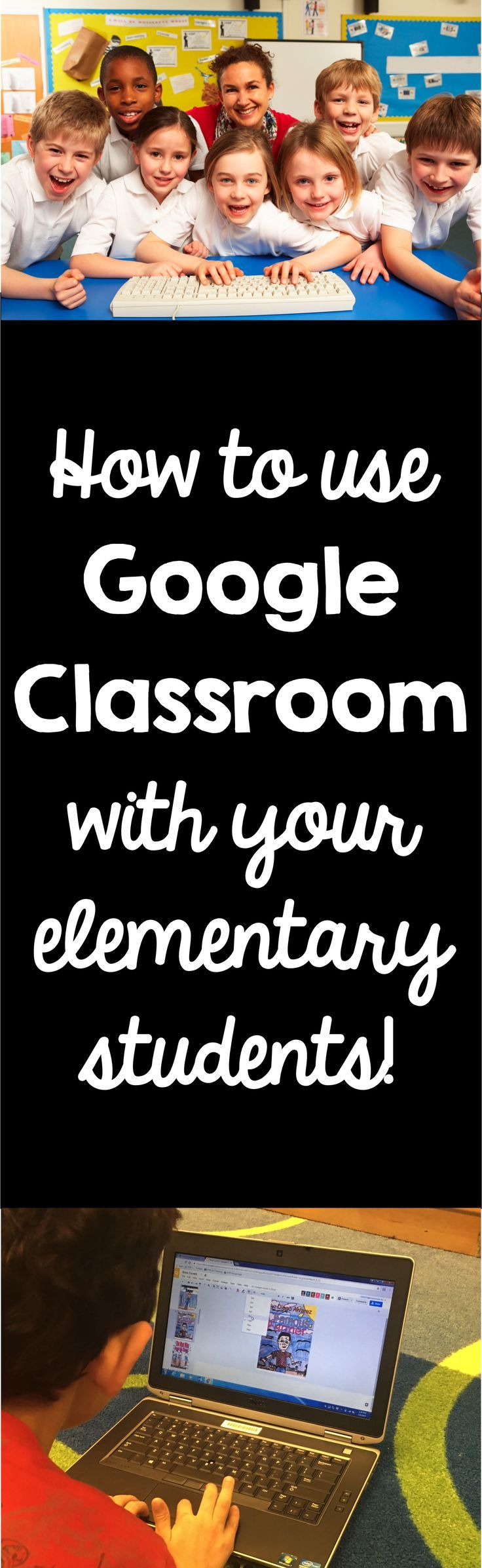Not quite sure what Google Classroom is? Learn how to bring it into the elementary classroom!