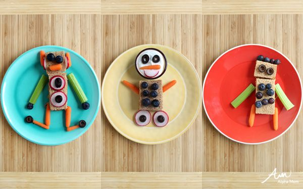 DIY Robot SnacksDiy Robots, Baby Food, Fun Food, For Kids, Snacks Time, Robots Snacks, Do It Yourself Robots, R Kids Food, Alpha Mom