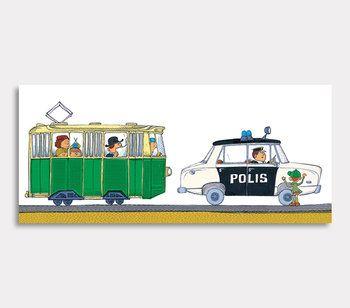 Olle Polisbilen och Spårvagnen