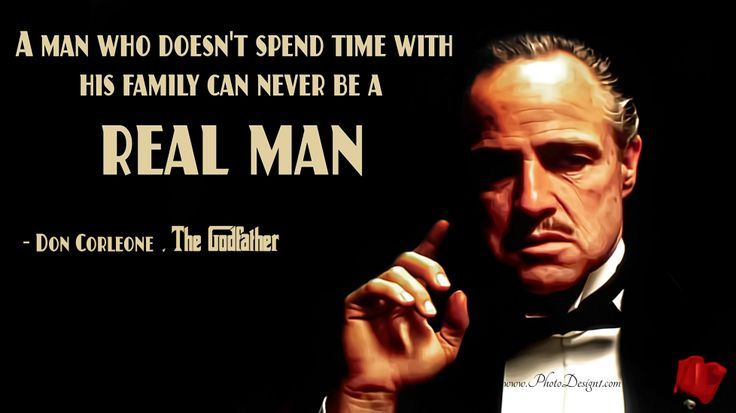 Don Vito Corleone Quote Wallpaper : PhotoDesign1.