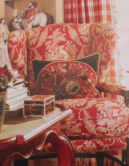Best Charles Faudree Decorating Images On Pinterest French - French french country fabrics