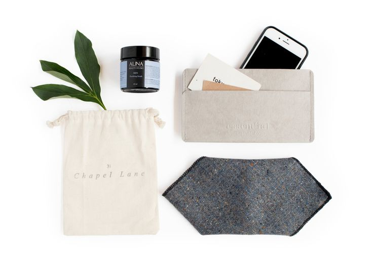 Hues Of Blue  Smart Phone and Card Case - 31 Chapel Lane Donegal Tweed Pocket Square - Alina Beauty Studio Men Purifying Scrub 60G.