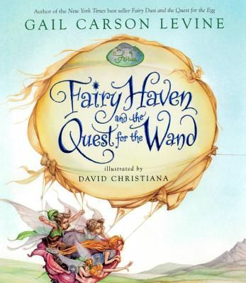 In this illustrated children's book, the writing is excellent, the story about fairies is terrific, the illustrations are Disney.