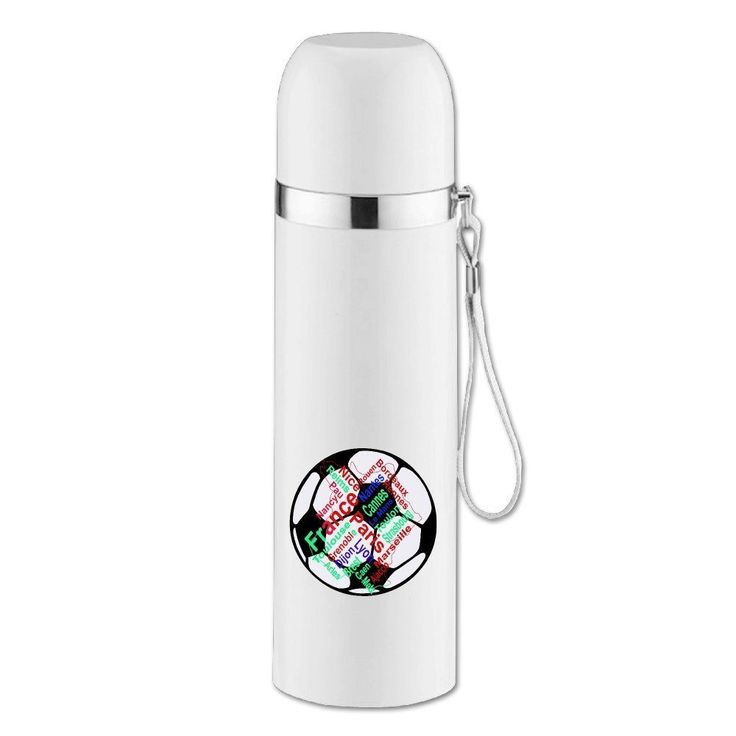 Kim Lennon Franch Famous City Custom Franch Famous City Stainless Steel Vacuum Bottle White -- Review more details here : Air Lounges