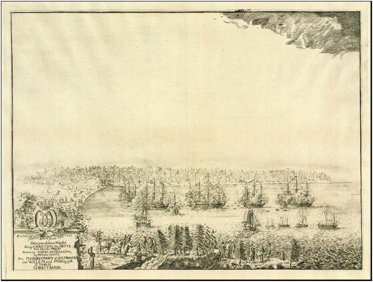Christian VI was in Moss, Norway in 1733.